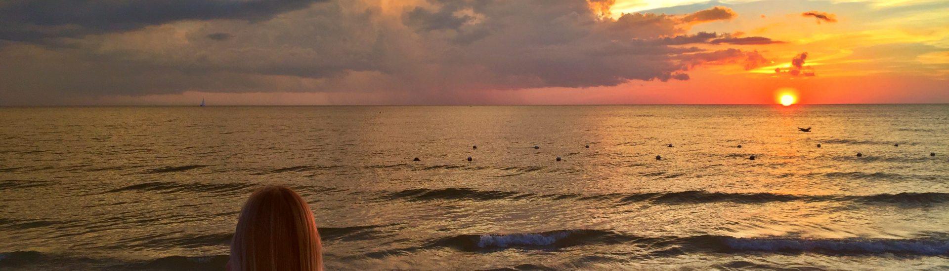 blonde beach Marco Island Florida sunset