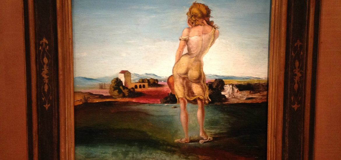 Girl from Ampurdam Salvador Dali