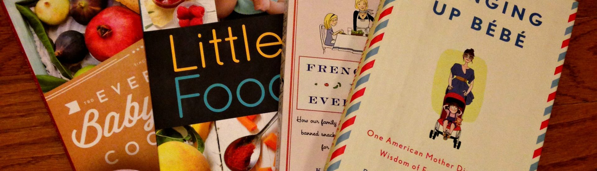 Baby food cookbooks French parenting