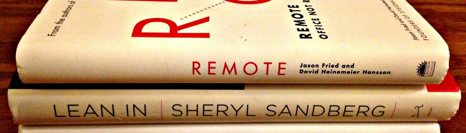 Remote Work Lean In Google books