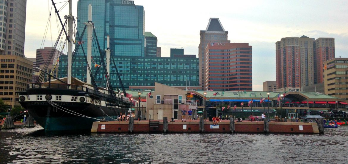 Baltimore harbor ship
