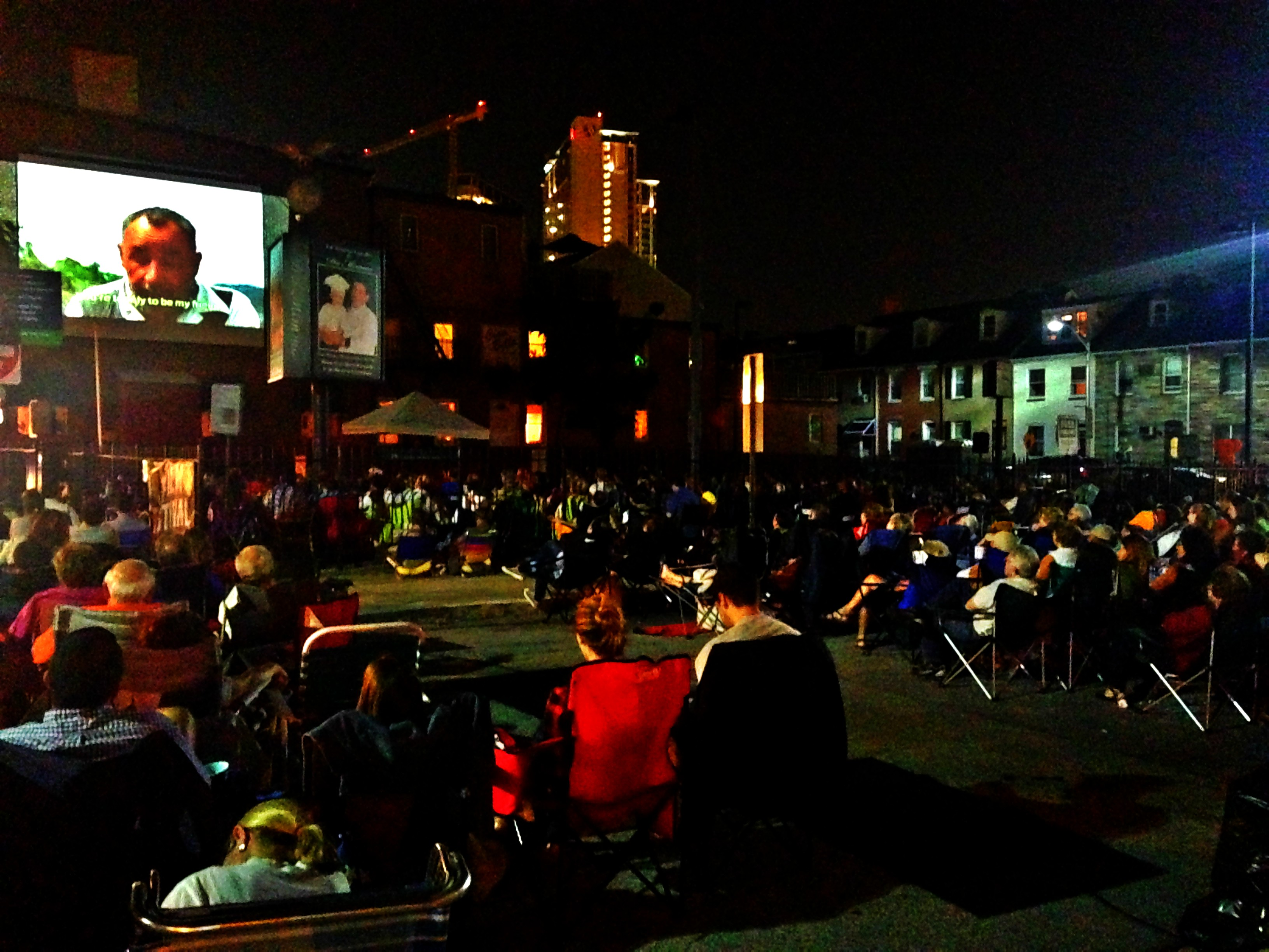 Cinema al Fresco Little Italy