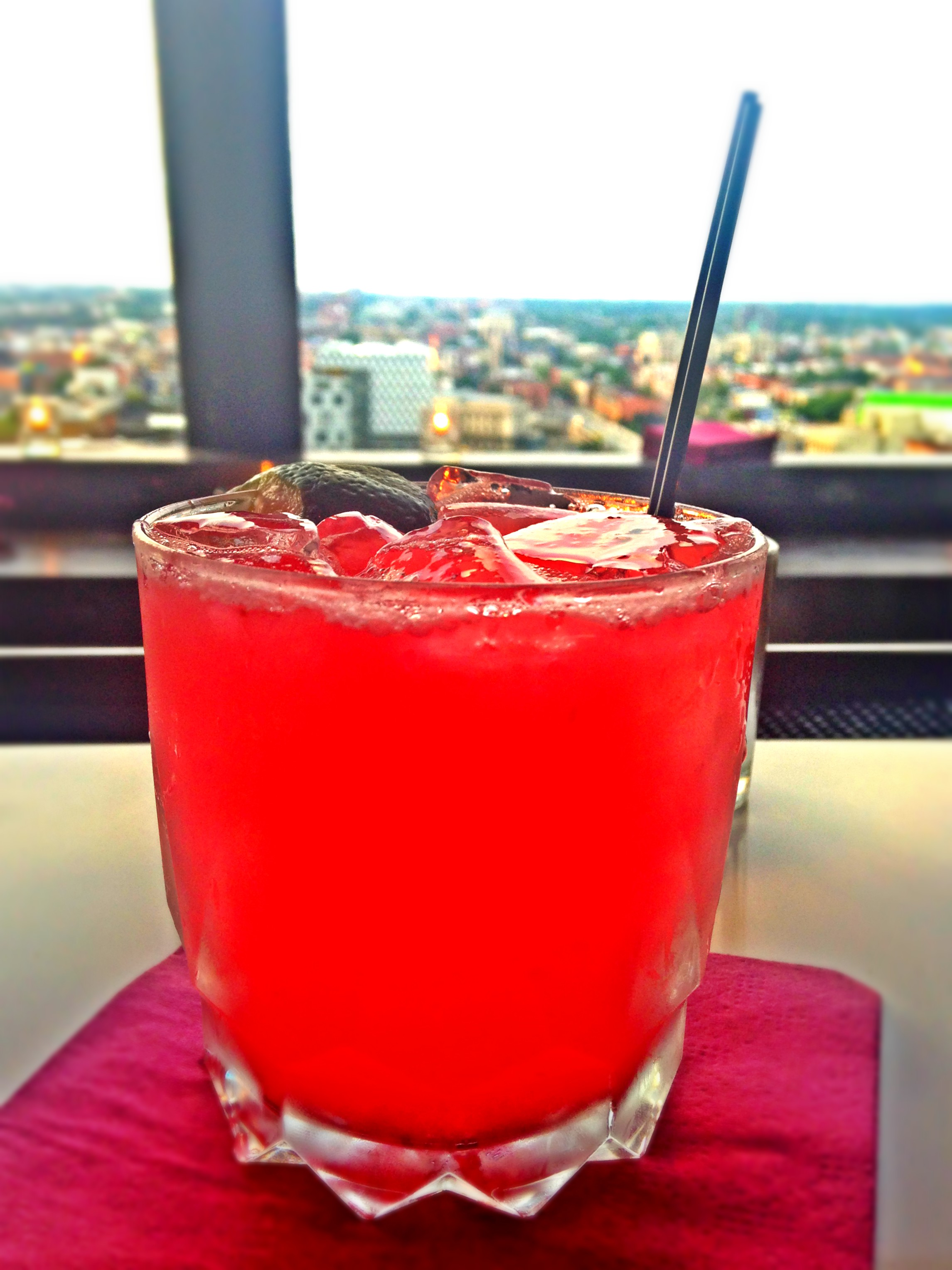 Cocktail at the 13th Floor Bar