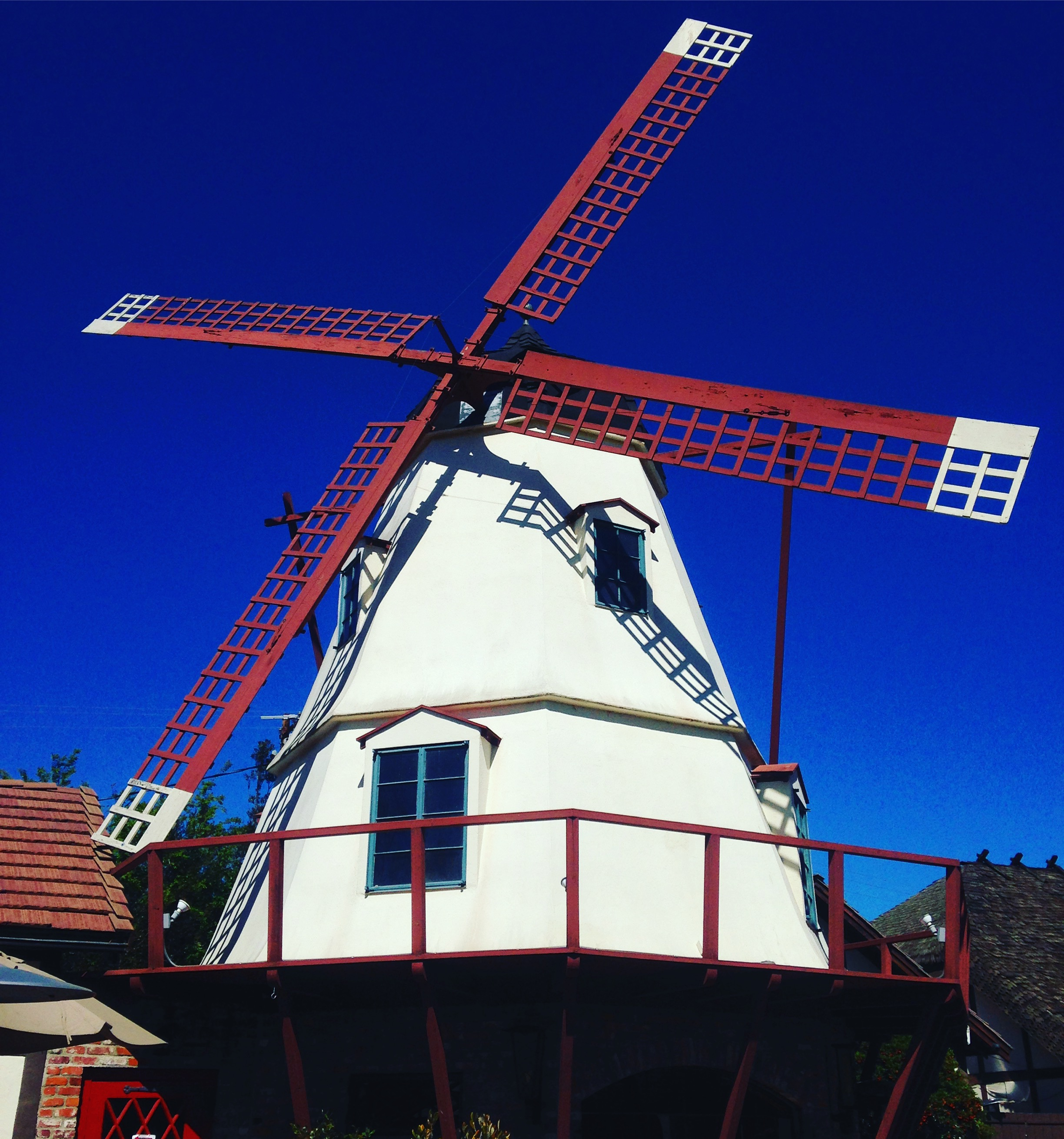 Windmill at the Solvang Brewing Company