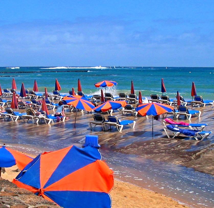 Beach In Teguise