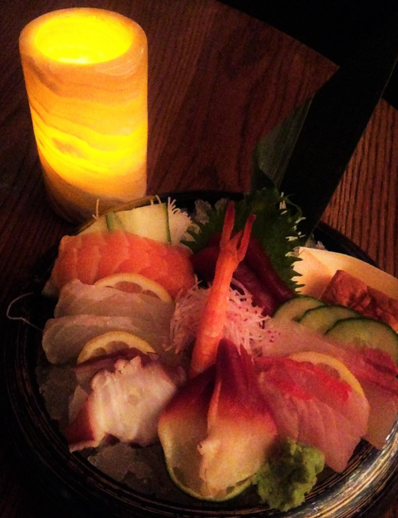 Chef's Choice Sashimi At Kumi At The Mandalay Bay