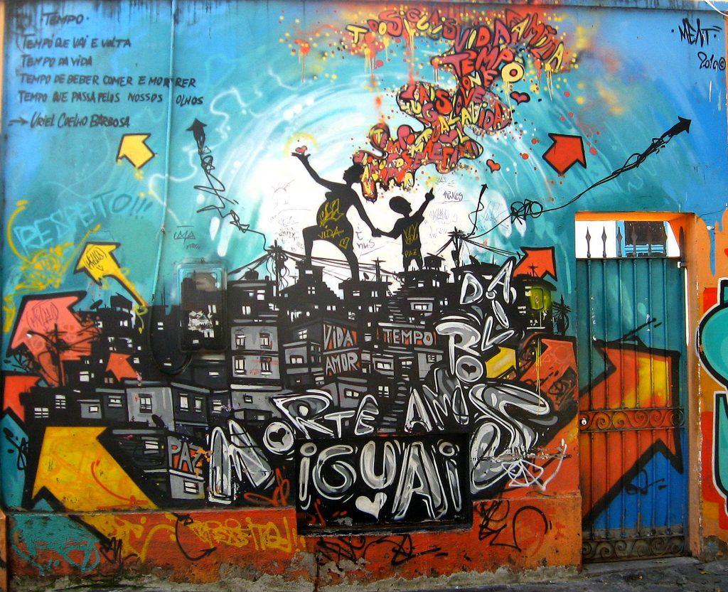 Selarón Graffiti
