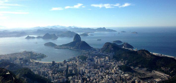 View From Sugarloaf, Rio de Janeiro, Brazil