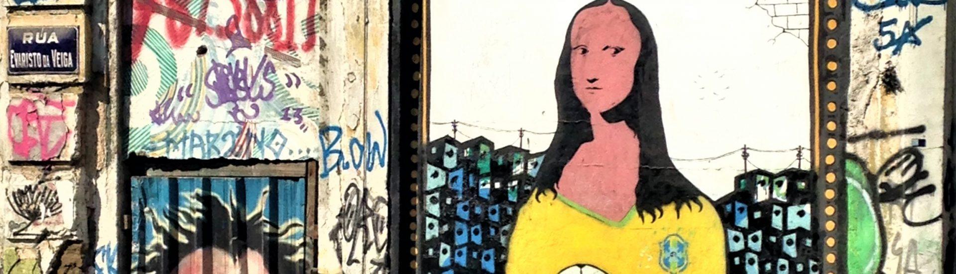 Mona Lisa in Lapa