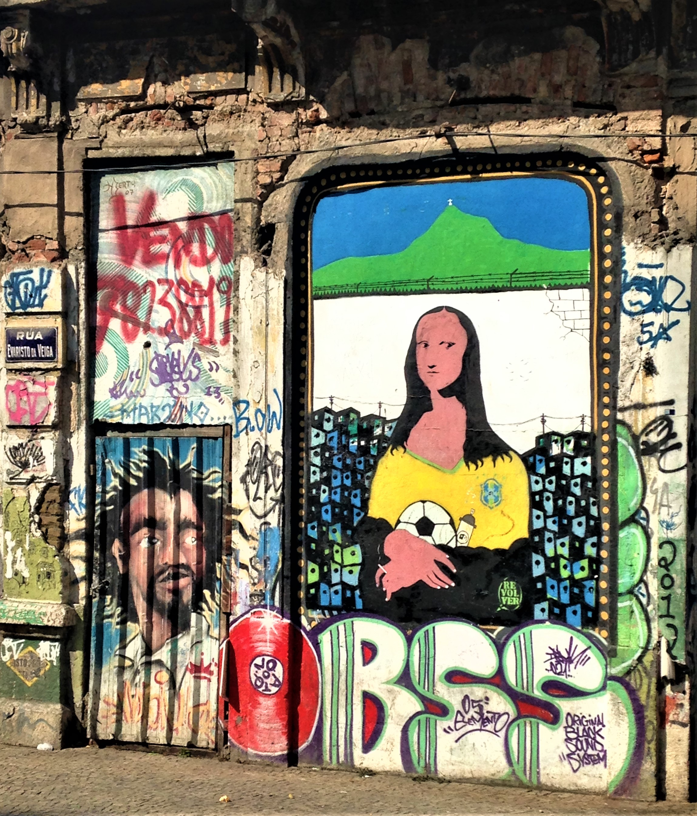 Mona Lisa in Lapa